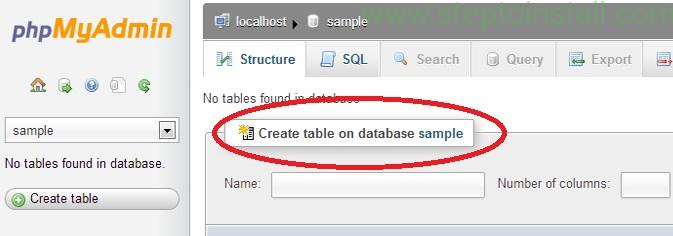 How to Create Database localhost Wamp - Create Database localhost Wamp - steptoinstall