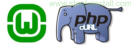 PHP cURL not working in WAMP on windows 7 32 bit-steptoinstall.com